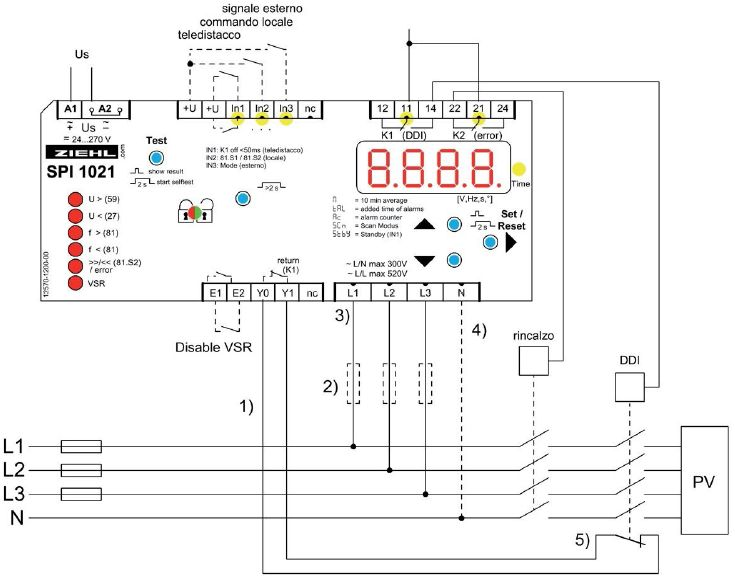 Schema Collegamento Impianto Fotovoltaico : In arrivo la nuova protezione di interfaccia ziehl per