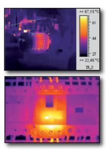 Immagini termografia